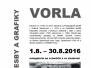 1.8.2016–31.8.2016 Výstava Ondřeje Vorla – Kresby a grafiky