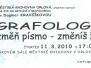 11.3.2010 Grafologie – změň písmo. změníš život
