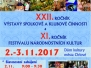 2.11.2017–3.11.2017 XXII. ročník výstavy spolkové a klubové činnosti a XI. ročník festivalu národnostních kultur