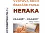 22.6.2017–29.8.2017 Výstava soch řezbáře Pavla Heráka