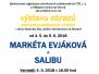 4.5.2018 Vernisáž obrazů zrakové postižených umělců – Markéta Evjáková a Salibu